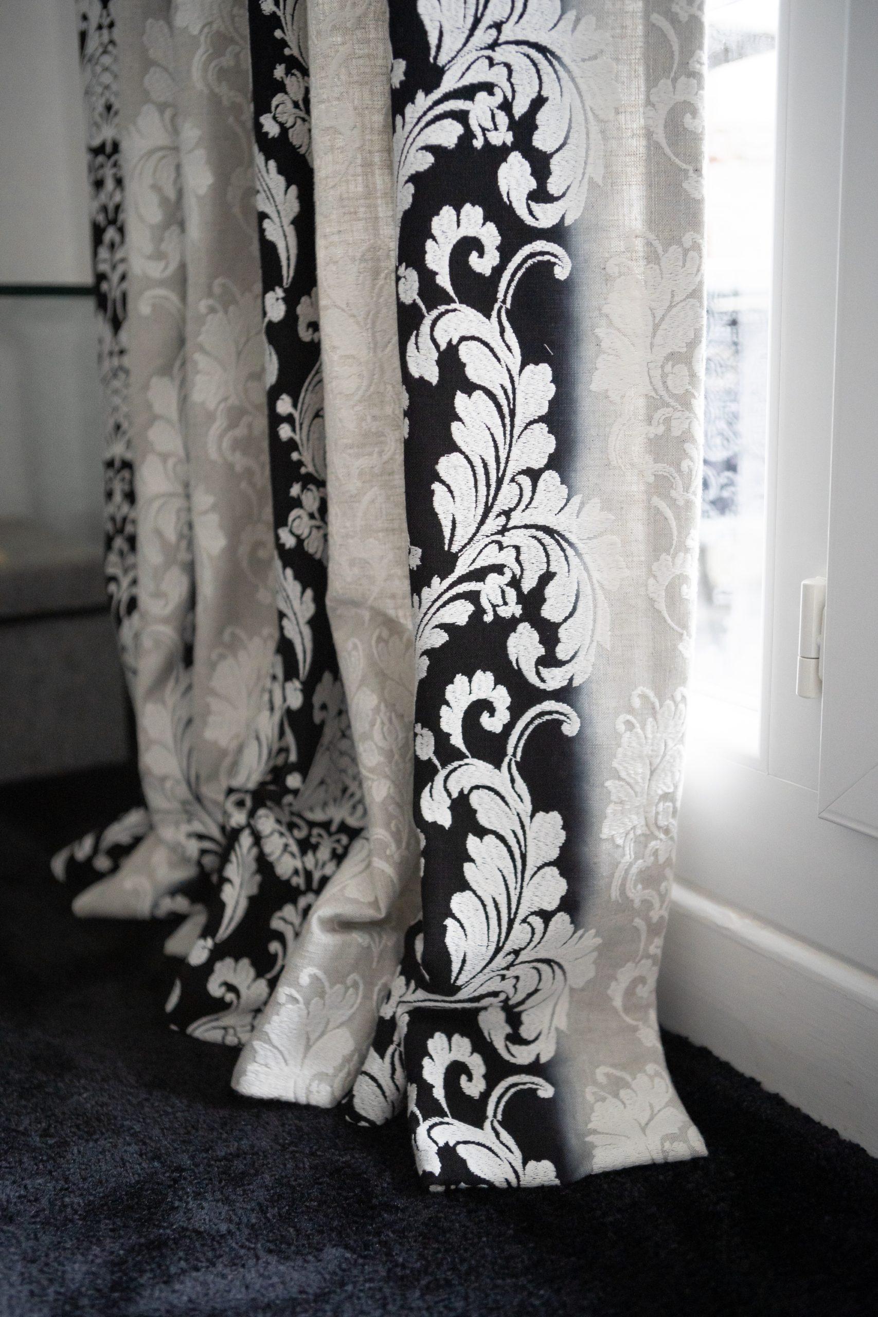 rideau décoration Le Mans tapissier décoration boutique tissu