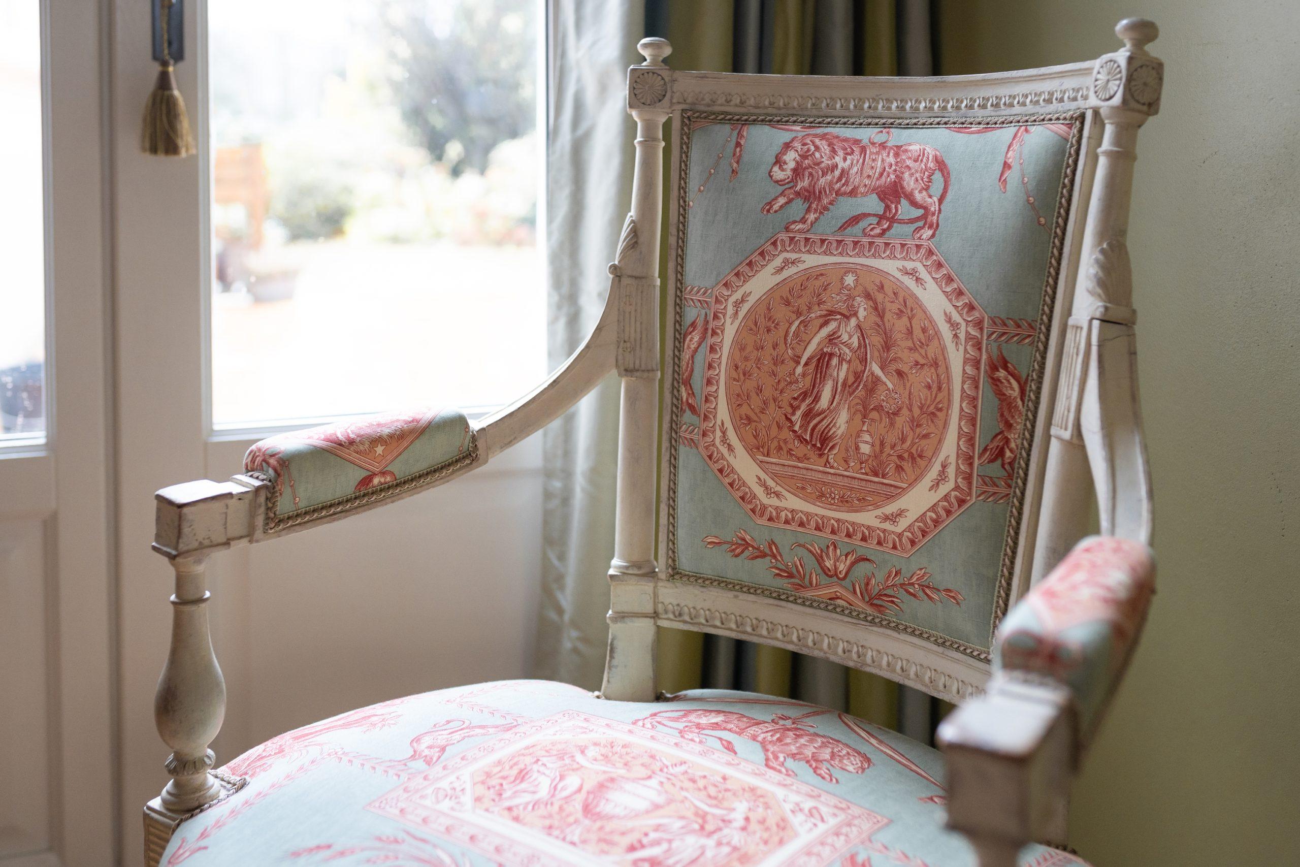 siége fauteuil tapissier Le Mans décoration