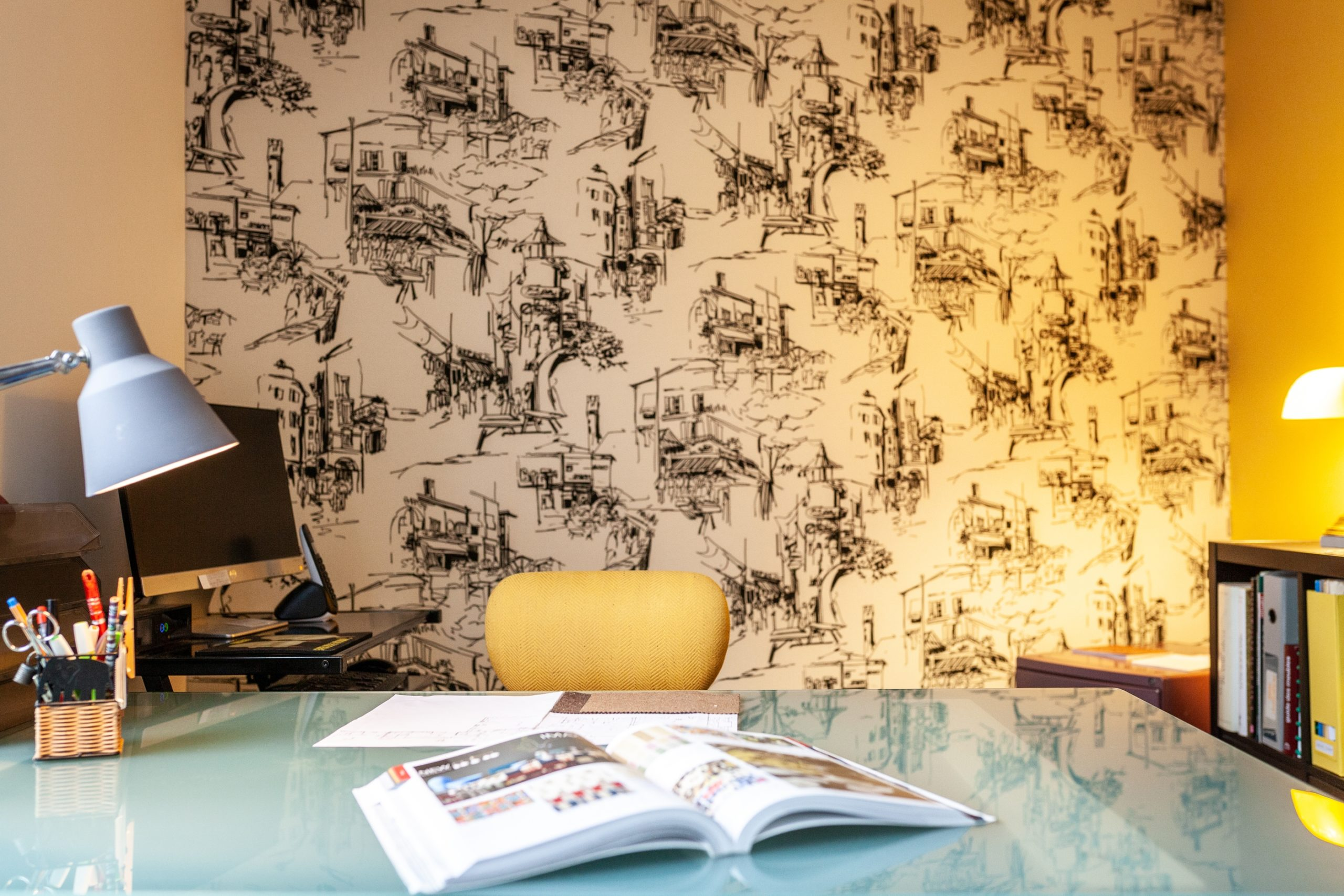 tenture murale tissu tapissier Le Mans Décoration
