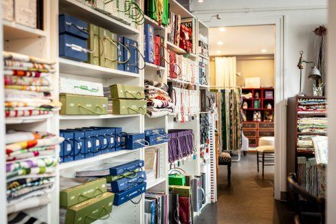 La boutique Le Mans décoration vente tissu galon